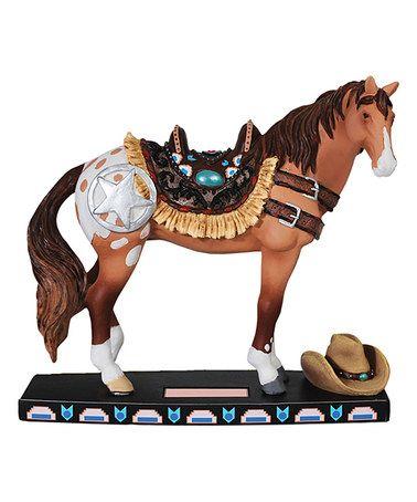 Another great find on #zulily! Western Horse Figurine #zulilyfinds