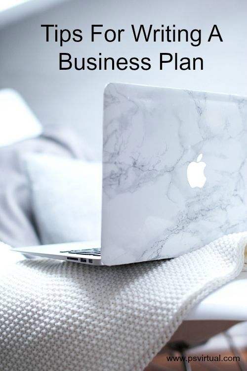 Tips on writing a business plan