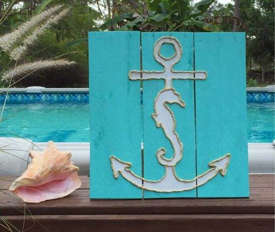 A personal favorite from my Etsy shop https://www.etsy.com/listing/219767281/handmade-seahorse-and-anchor-beach
