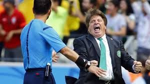 Mexican coach blames ref for exit