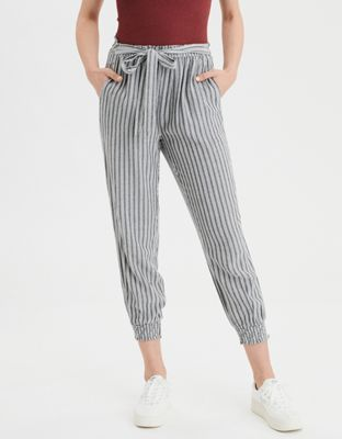 a98b3b4ebf61 AE Tie Waist Jogger Pant by American Eagle Outfitters | Straight up  amazing. Tie front and a tapered silhouette make these joggers as versatile  as anything.