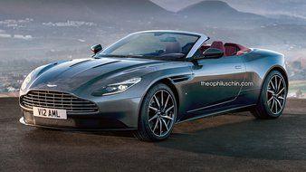 Design : Aston Martin DB11 Volante