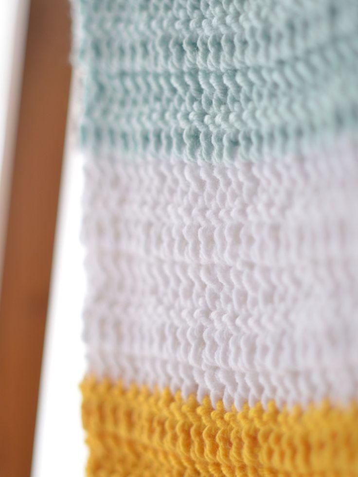 Famoso Patrón Dosel Asiento De Coche Crochet Embellecimiento - Manta ...