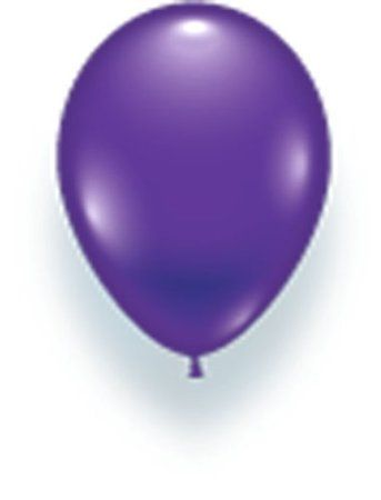 25 Luftballons violett Partyballons 28 cm Ø