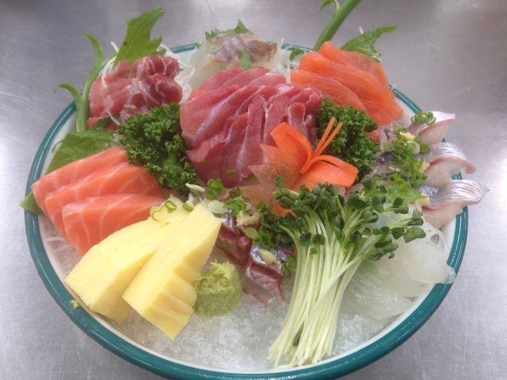 Various sashimi