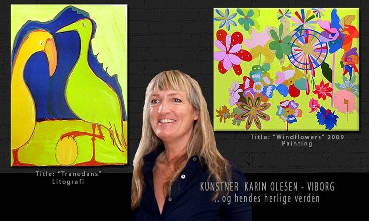 Webmothers Kunstner/ART Portal - Kunstner Karin Olesen - Viborg/ Denmark