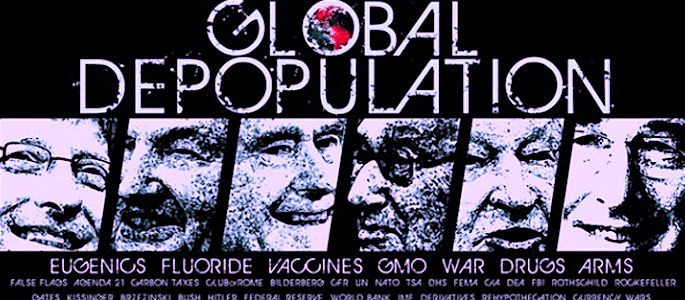 """NOTE: I am reposting this important article explaining the Global Elite's """"Population Control"""" plan with a new title and graphic because many peopleneed serious convincing to ful…"""