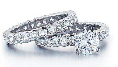 Simple enough.: Girls, Diamond Rings, Bling Rings, Beautiful, Wedding Rings, Diamonds Rings Engagement, Squares Diamonds Rings, Platinum Diamonds, Engagement Rings