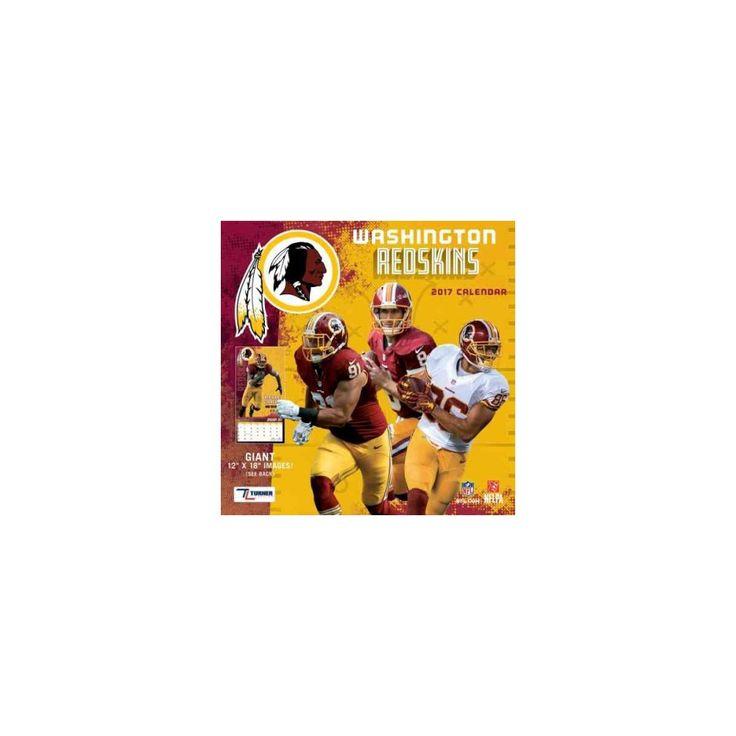 Washington Redskins 2017 Calendar (Paperback)