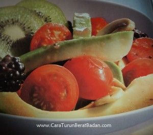 Mix Fruit Avocado Salad