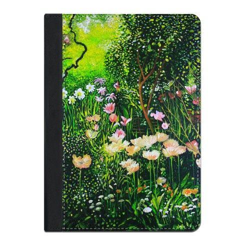 Spring Tulip Flowers  iPad Case by simon-knott-fine-artist at zippi.co.uk