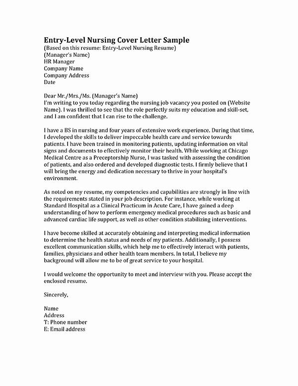 Cover Letter For Nursing Student Best Of Learn How To Write A Nursing Cover Letter Insi Nursing Cover Letter Cover Letter For Resume Sample Resume Cover Letter