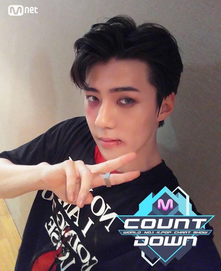 Sehun ❤ Mcountdown Selfie #EXO #Monster
