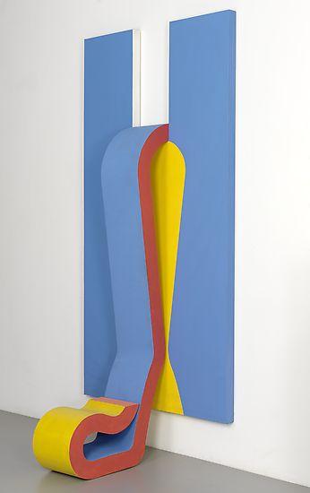 sven lukin | Sven Lukin blends minimalist painting with op art relief sculptures in ...