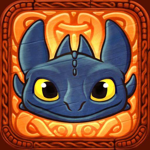 DreamWorks Dragons by Pikpok on #iconagram. Iconagram, a gallery of iOS and OSX App Icons.