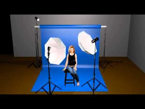 An overview of a classic three-point lighting setup used in portrait photography.  Learn a lot more about photography by signing up for my free newsletter!  http://www.edverosky.net/blog/free-newsletter/