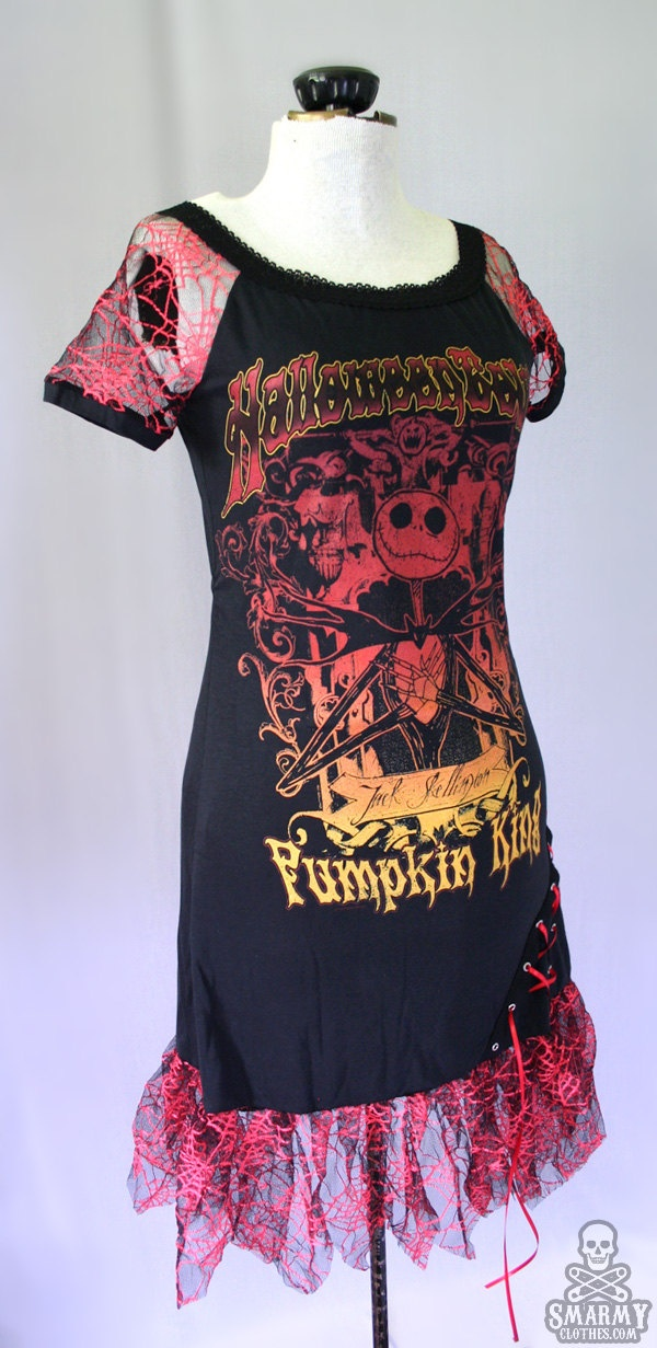 Nightmare Before Christmas spider web dress ...