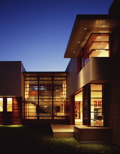Waldfogel residence in culver city california by ehrlich architects modern exterior