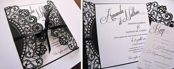 Mayline Confection| Faire-part mariage| Invitation mariage| Papeterie
