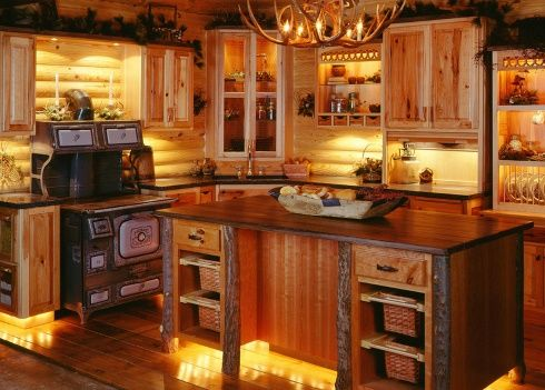 Best 25+ Log cabin kitchens ideas on Pinterest | Rustic cabin ...
