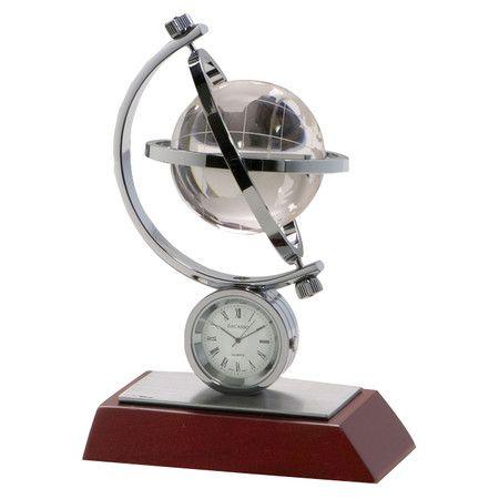 Found it at Wayfair - Birchwood and Metal Global Clock