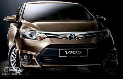 Toyota Vios đến với triển lãm Auto Expo 2016