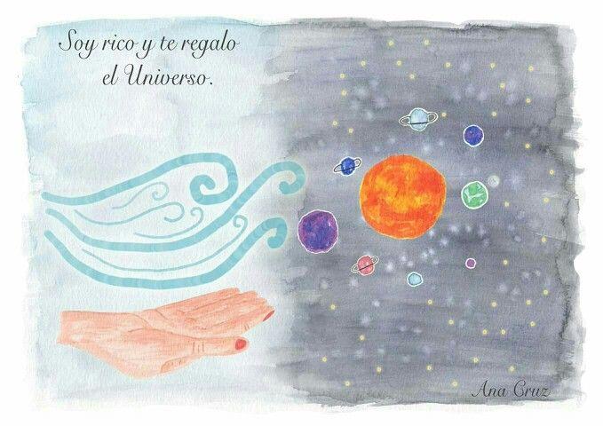 Universo #amor #dibujo #acuarela #mindfulness