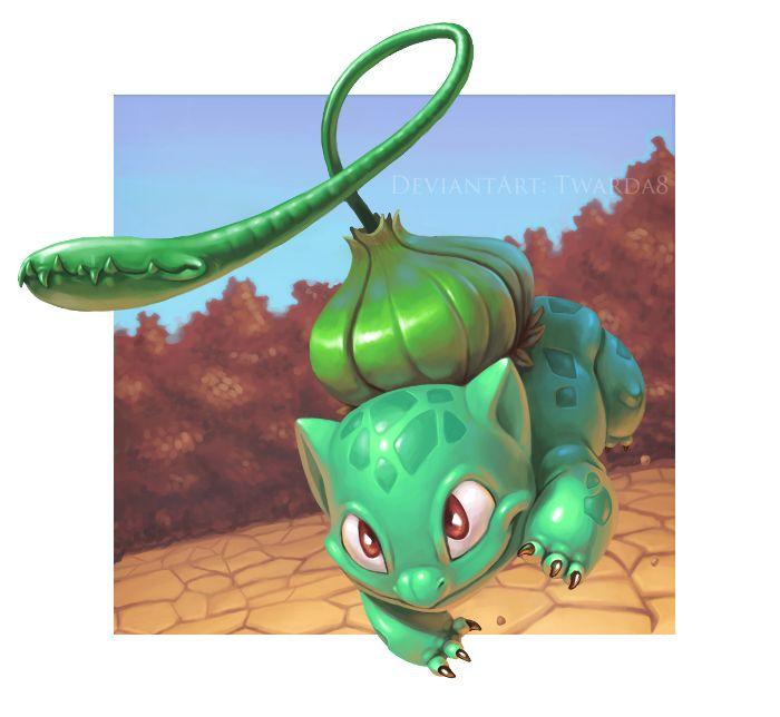 Pokemon - Bulbasaur used Vine Whip! (My fave starter)