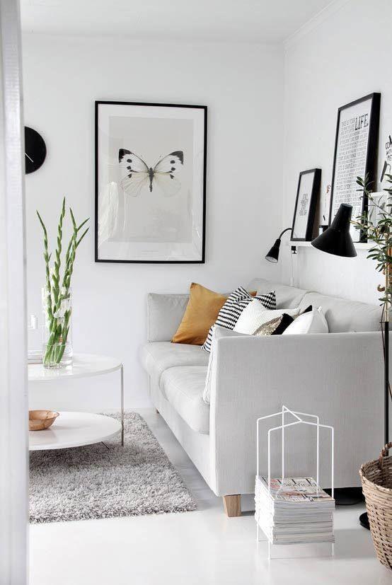 Inrichting Zwart Wit: Interieur inspiratie zwart wit en een paar ...