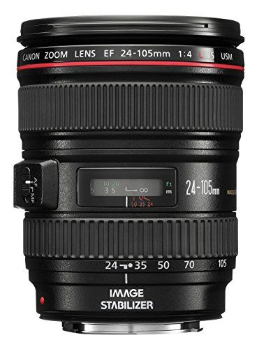 This easy-to-use standard zoom lens can cover a large zoom area ranging from 24mm wide-angle to 105mm portrait-length telephoto and its Image Stabilizer Technology steadies camera shake up to three s...