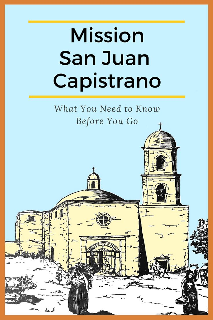San Juan Capistrano is a visitor favorite for its pretty grounds and the romantic ruins of California's most ambitious mission church.