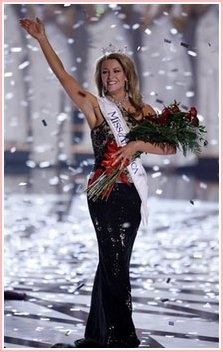 2007 Miss America Lauren Nelson (from) Lawton Okla