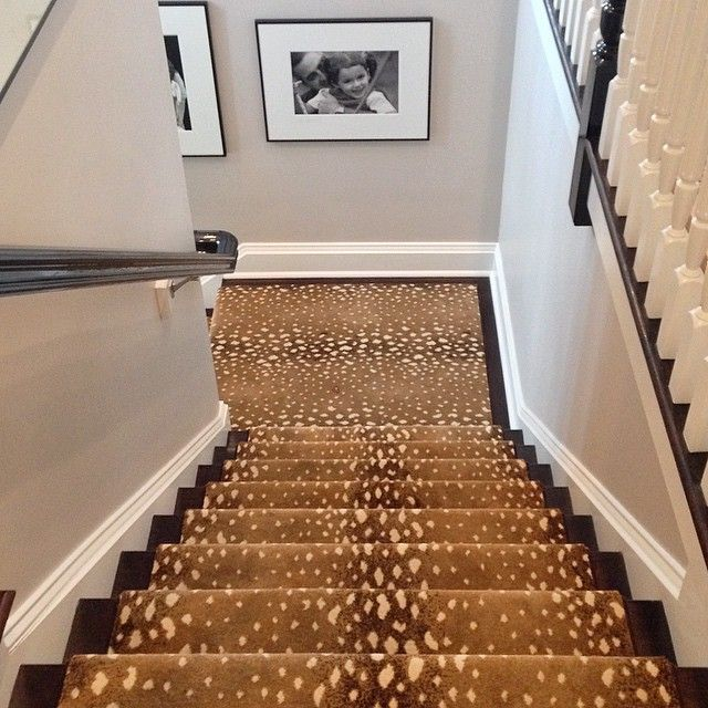 Repeat Performance From The Old House   Just Installed #newhouse  #interiordesign #floors #. Stairway CarpetCarpet StairsCarpet ...