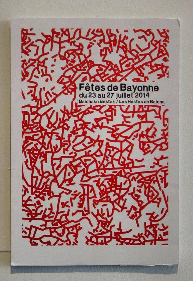 L'affiche élue parmi 145 projets pour les fêtes de Bayonne 2014 ne fait pas l'unanimité. Zoom sur les autres affiches festives et pleines de créativité !