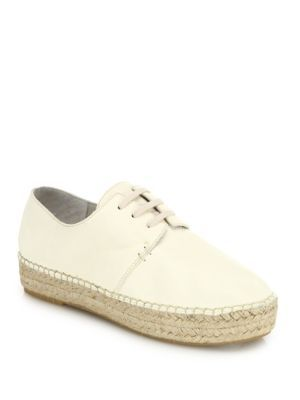 VINCE Cynthia Leather Espadrille Sneakers. #vince #shoes #sneakers