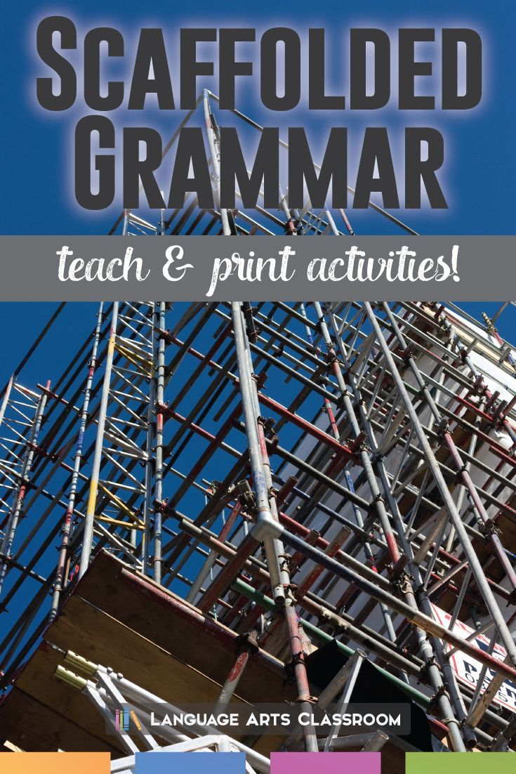 Looking to differentiate your grammar lesson plans? These activities don't expect students to know all grammar concepts. Instead, they walk students through difficult concepts.