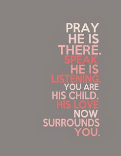 Free Printables: Pray, He is There- 2 Color options