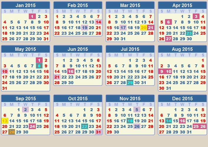 calendar 2015 with holidays | eclipse 2015 in south africa 2015 south africa calendar 2015