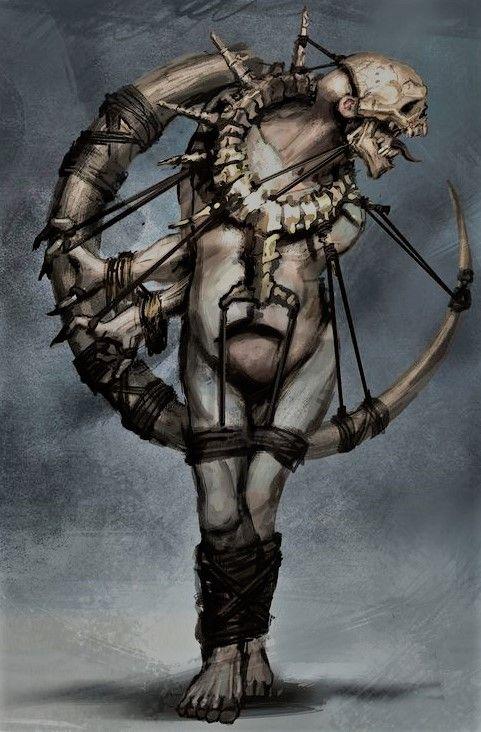 Selekhel - Deus dos Assassinatos, Mal, Mortos-Vivos, Morte, Pânico e Serpentes.