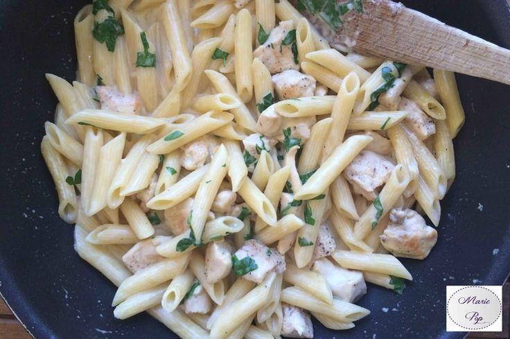 One Pot Pasta poulet sauce alfredo