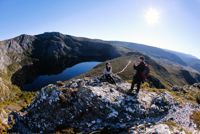 Hiking Cradle Mountain in Tasmania -- Read more: http://www.asherworldturns.com/hiking-cradle-mountain-tasmania/