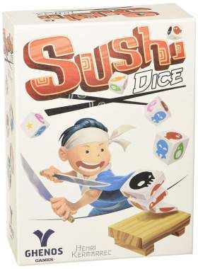 Sushi Dice Game: Sushi Dice Game Sushi Dice is a quick-playing dice game in which players compete head-to-head to… #UKOnlineShopping