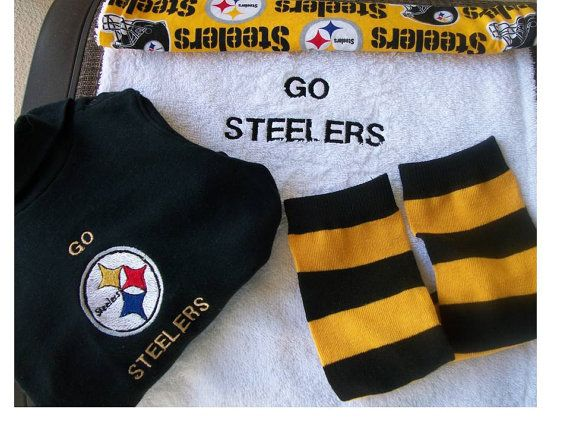 92 Best Steelers Baby Images On Pinterest Babys Newborn