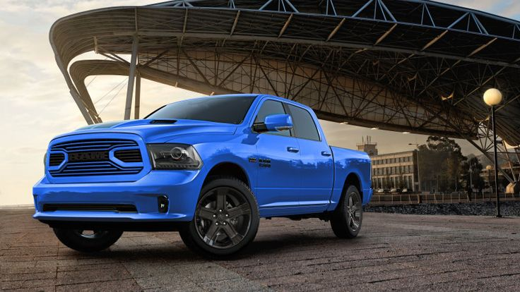2018 Ram 1500 Hydro Blue Sport is here to brighten your