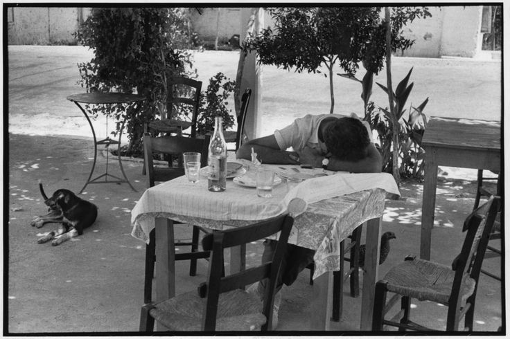 Henri Cartier-Bresson  GREECE. Peloponnese. 1961.