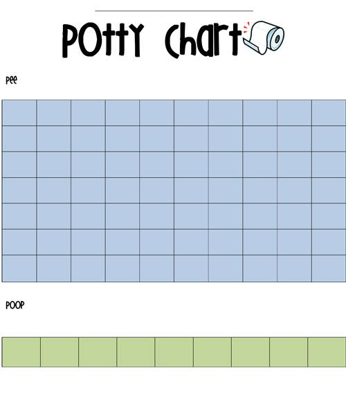 Printable Potty Training Chart: Free Printable Potty Sticker Chart And What Finally Worked
