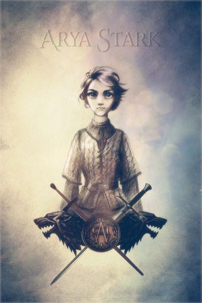 Game of Thrones - Arya Stark by Indi-Aeglos.deviantart.com on @DeviantArt