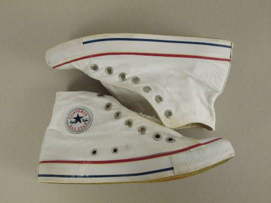 Converse All Star USA made Unisex Size Mens 8 Womens 11 uk 7 EUR 42 White