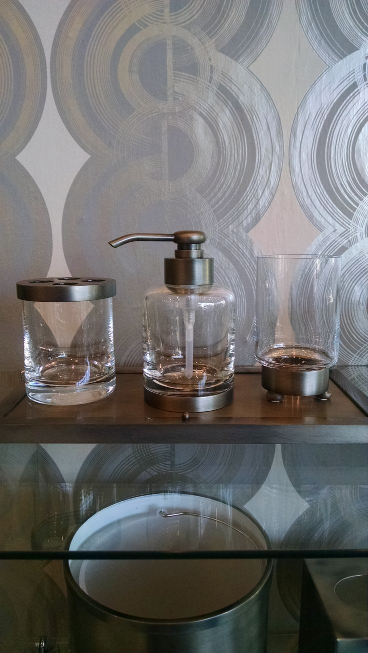 Handmade Pewter Luxury Bathroom Accessories . Chic, Industiral , Edgy Luxury  Bathroom
