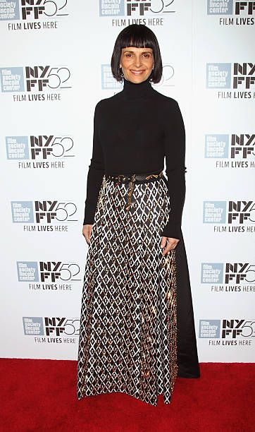 Actress Juliette Binoche attends the 'Clouds Of Sils Maria', 'Merchants Of Doubt' & 'Silvered Water' screenings during the 52nd New York Film Festival at Alice Tully Hall on October 8, 2014 in New York City.